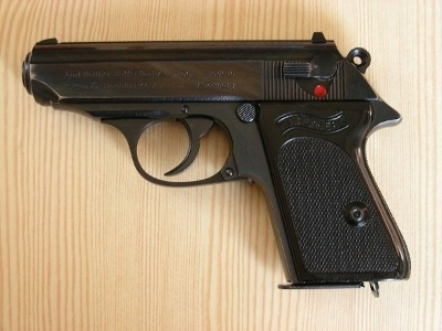 Pistole Carl Walther 7,65 mm PPK