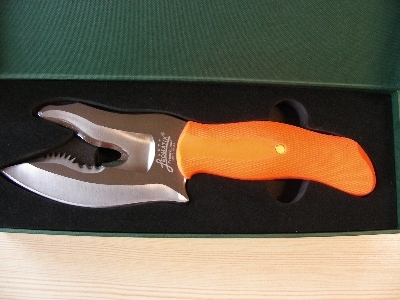 Leomatik Universal Aufbrechmesser orange
